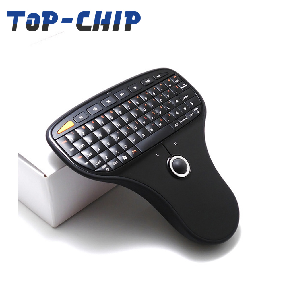 2017 the latest N5901 2.4G wireless keyboard, wireless air mouse and keyboard smart TV stick