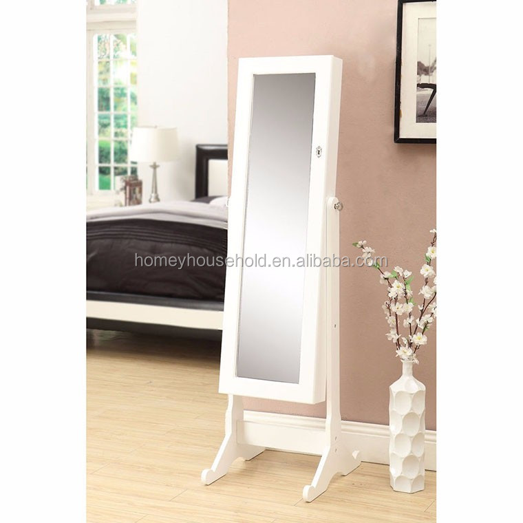 Furniture Free Standing Mirror Jewelry Armoire Furniture Free