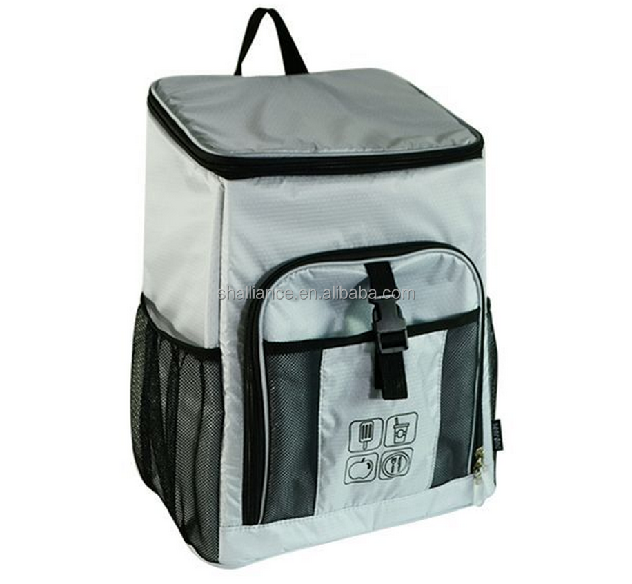 high-quality eco-friendly polyester picnic hot and cold insulated effect beer can backpack