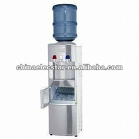 Water dispenser with ice maker capacity 12kg and conforms to CE/CB/RoHS/ETL/CETL