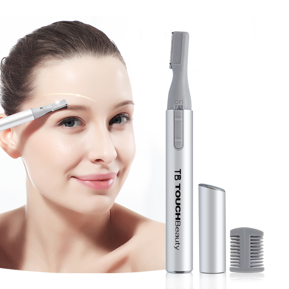 Mini Electric Hair Remover Gesichtsbikini-Linie Trimmer Professionelle Augenbraue Trimmer