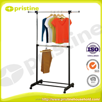 manufacturer multifunctional wardrobe portable metal clothes rack