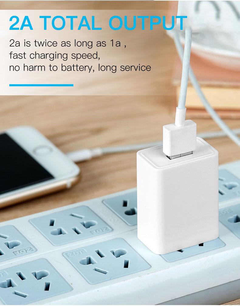 Alta qualidade 110v UA REINO UNIDO DA UE EUA plug usb carregador de parede 5v 1a 2a carregador universal do telefone celular