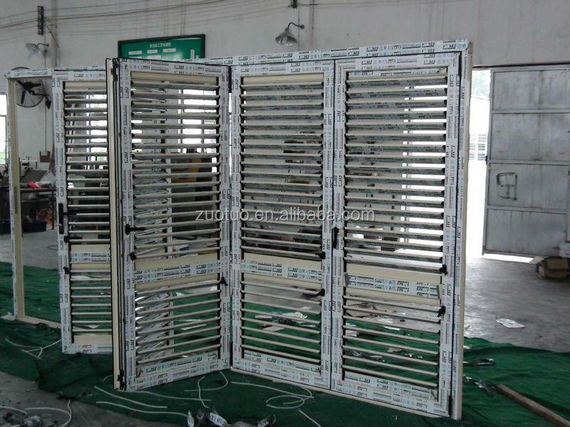 Puerta de persiana de aluminio plegadora contraventanas for Puerta tipo louver