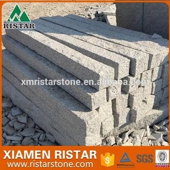 Naturliche Granit Stein Palisade Zaun Buy Granit Palisade Stein