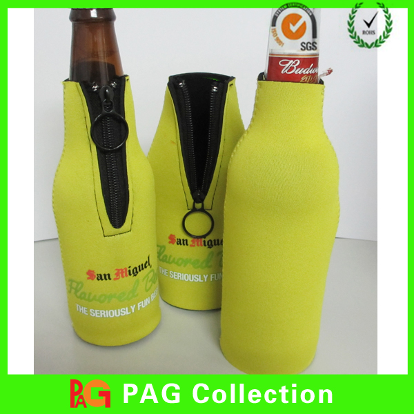 sublimation neoprene cozycan/beer bottle cooler holder stubby cooler