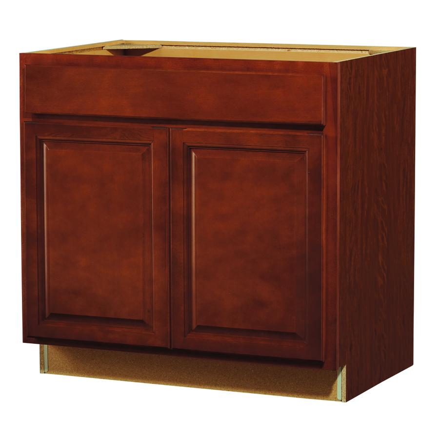 Raised Door Small Kitchen Sink Cabinet