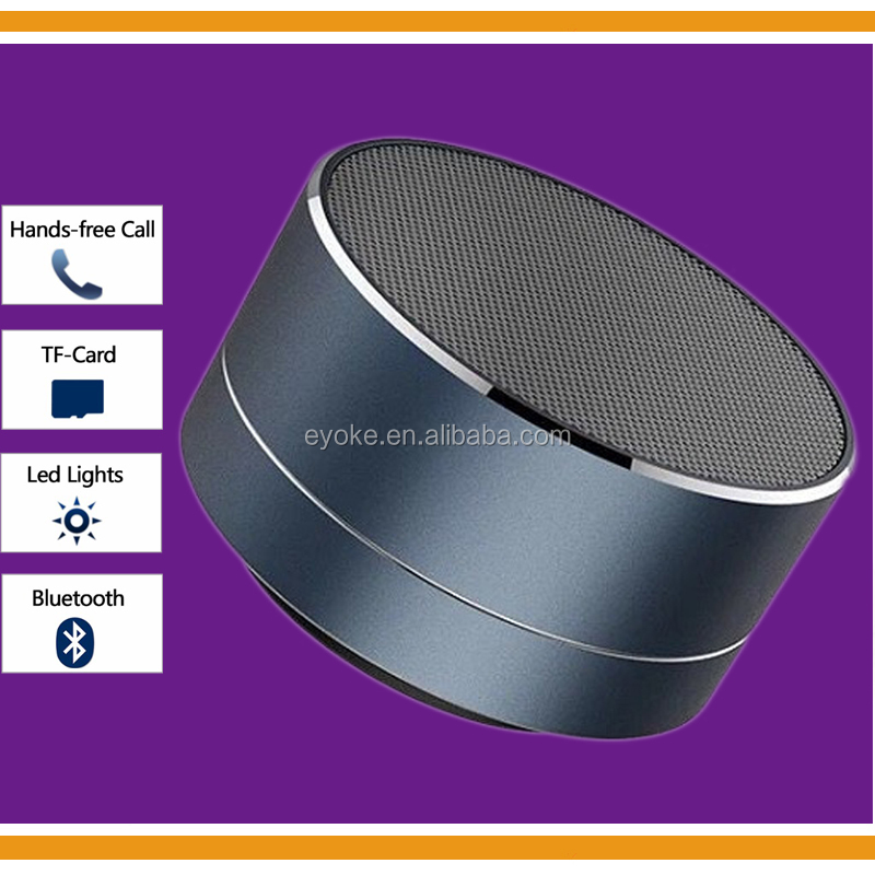 Mini Portable LED Light Bluetooth Wireless Speaker