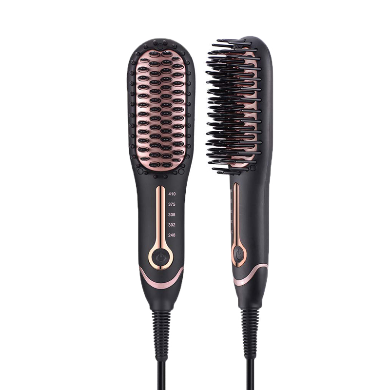 hair straightener brush <strong>mini</strong> ionic hair <strong>flat</strong> <strong>iron</strong> for personal use