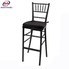 Popular high bar chair metal stackable stools