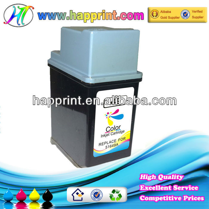 High quality&Hot sale compatible ink cartridge for HP 49 (51629A)