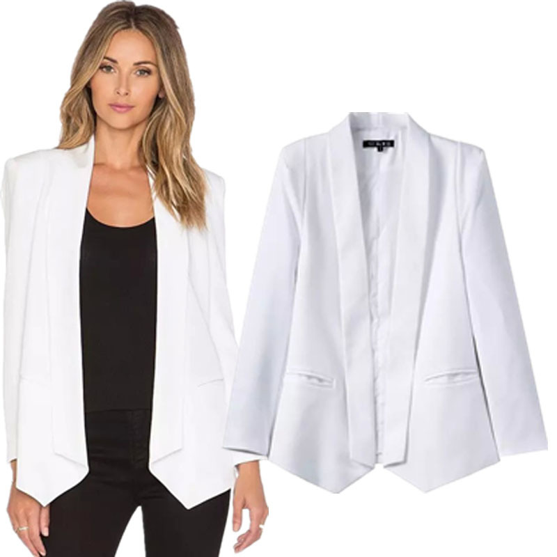 How To Wear The Satin Blazer - REISS.