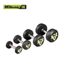 Hot sale round rubber coated dumbbell