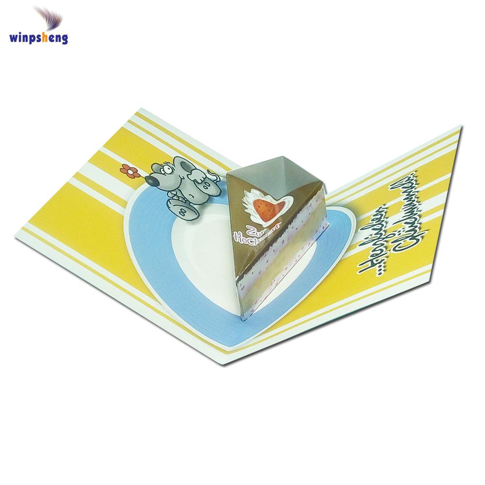 Handmade Personnalisé De Luxe 3D carte de Noël avec Boîte Cadeau