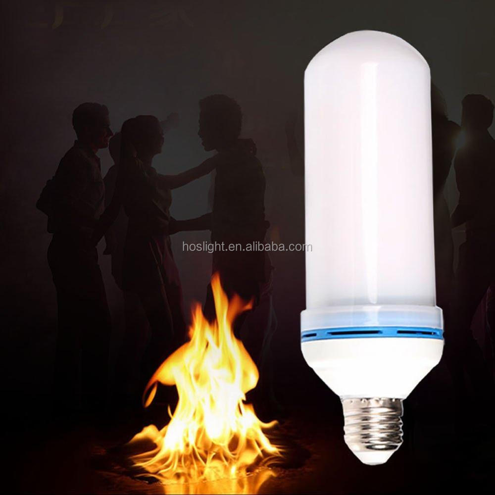 E26 LED Flickering Flame Light Bulbs Super Fire Led Flashlight Torch Lamp for Outdoor Landscape