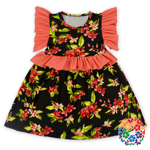 Stylish Children Frocks Designs 0-6 Years Old Baby Dress New Model Girl Cotton Dress