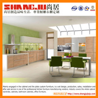 Melamine kitchen Professional design new style kitchen cabinets