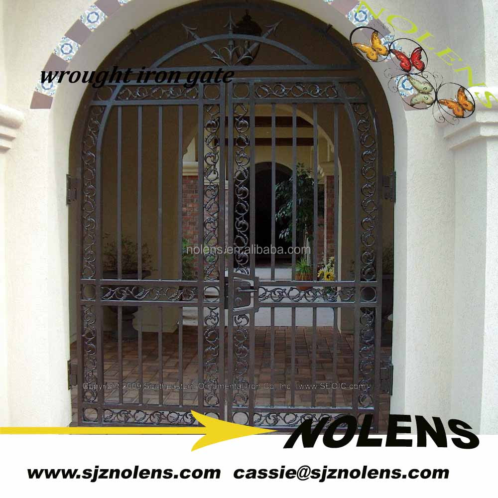 Wrought Iron Gate Design/house Gate Grill Designs/iron Plate Iron ...