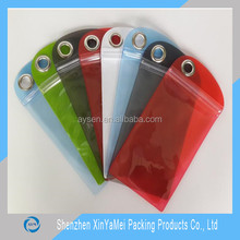 waterproof dry bag,waterproof mobile phone pouch new design ,phone waterproof bags packaging with keychain hole