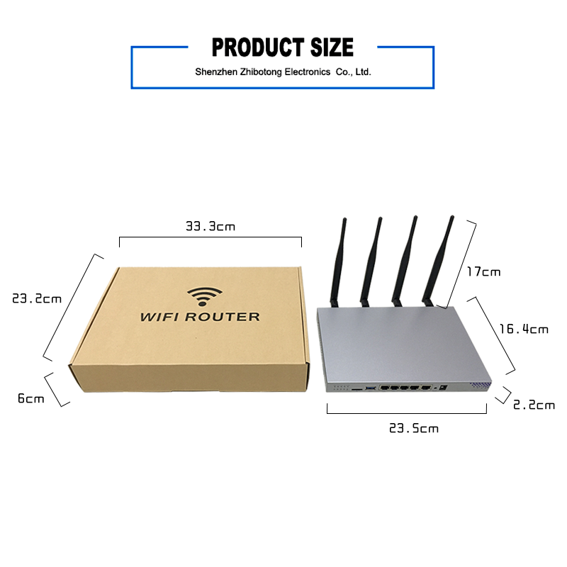 802.11Ac 4G 500 Meters 7621A Oem Ac Wireless Wifi Router Hotspot 512Mb Ram With Sim Card