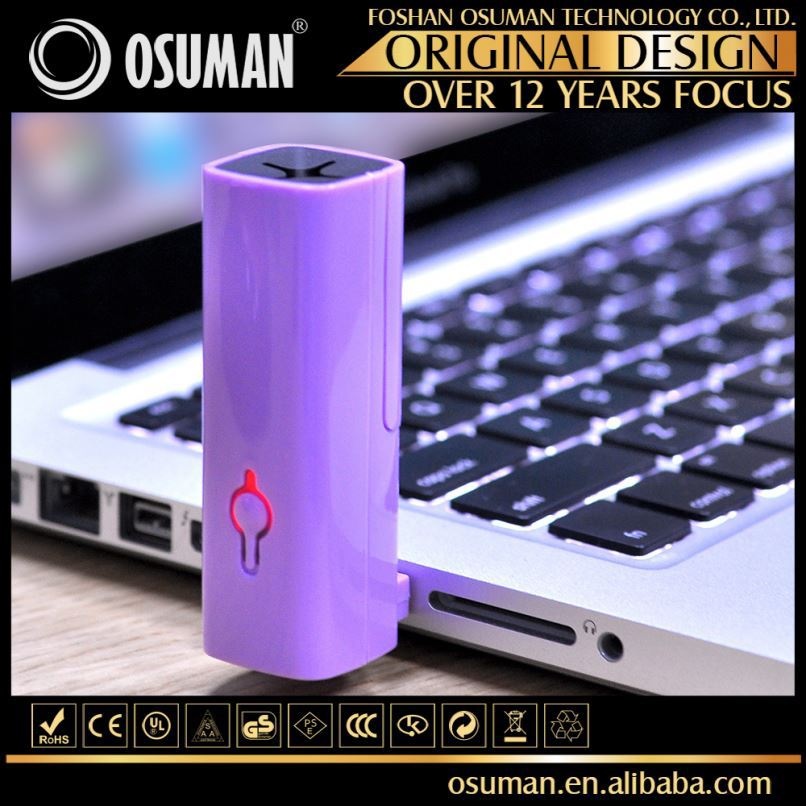 Simple Elegant Design Mini Oil Diffuser Aroma Humidifier Ionizer Car Vent Air Freshener