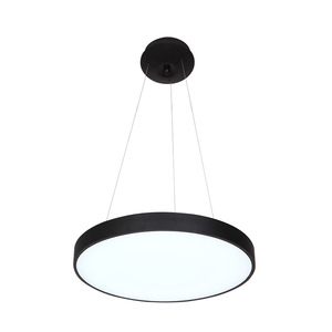 L4u ETL cETL UL cUL Modern Round Diameter 400mm Acrylic Ceiling Fixture Flush Mount Chandeliers Lighting for Office