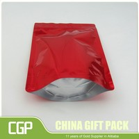 Aluminum foil lined paper grilled chicken bags for hot food packaging