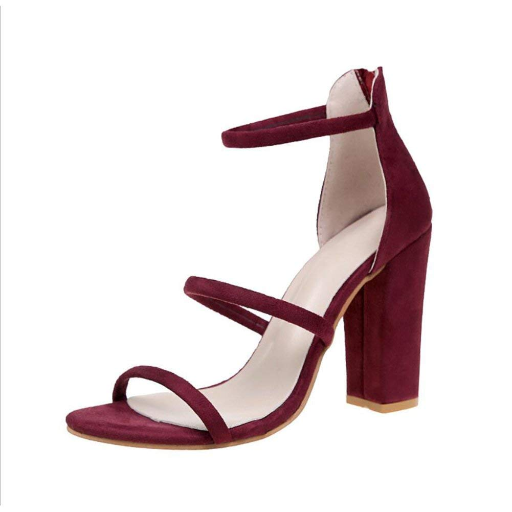 Color : A, Size : 37 XUEXUE Womens Latin Shoes//Salsa Shoes Ballroom Shoes Satin Sandal Buckle Heel Dance Shoes Hollow-out Party /& Evening