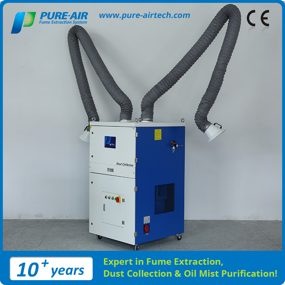 Pure-Air 2017 New food grade Fume Extractor For Hair Salon With Stable Function