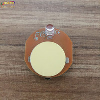 Single white color small led blinking lights/battery powered switch led light