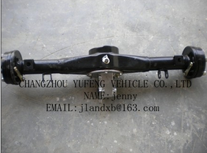 electric pedicab transaxle/rear differential axle /electric pedicab differential