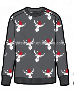 XMAS JUMPER CHRISTMAS MEN PULLOVER SWEATER