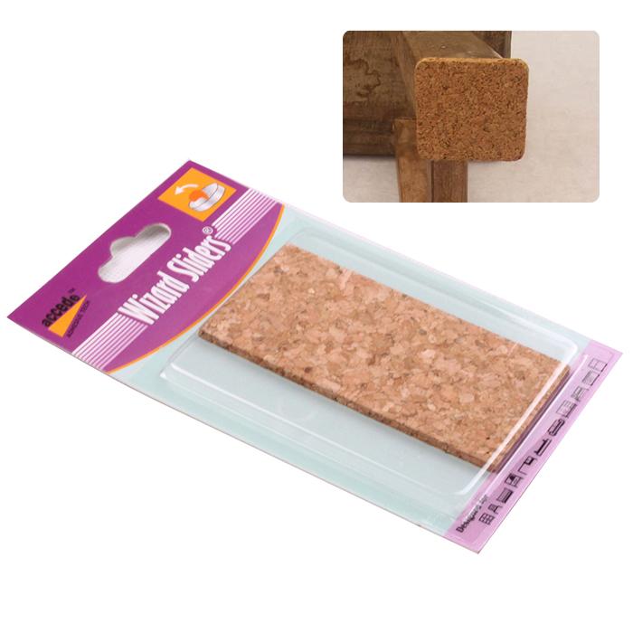 Self adhesive floor protector  cork pads