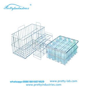 Stainless steel basket for water bottle / PC Plastic mouse holder/Lab  equipment/Lab animal equipment