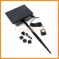 10V 40mA Solar Powered Mini Water Fountain Pump Kit for Fish Pool Water Cycle and Cool