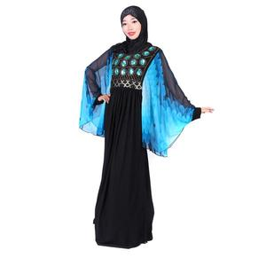 2017 new fashion malaysia modern muslim women dress ladies abaya