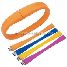 cheap usb flash drives wholesale silicone usb memory stick bracelet 128MB-32gb