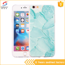 2017 Nwe Design Beauty Marble Pattern Soft Phone Case For Iphone 6plus