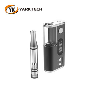 Yarktech ipure3 Hot Popular Cbd Oil Vaporizer E Cigarette Open Pen Vape Pen Cartridge Battery Fit For 510 Thread