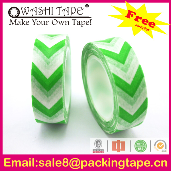 Custom printed vinyl transfer tape for sealing