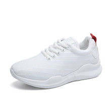 Spring And Summer New Women Breathable Knit Sneakers Thick Bottom Girls Casual Shoes