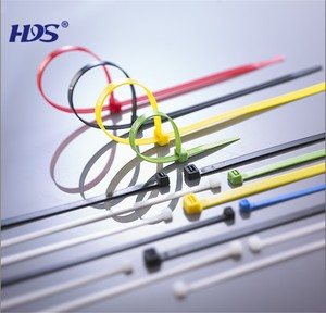 Black Color HDS7.6*300mm / Nylon 66 Cable Ties / Wrapping Ties /Strapping Ties