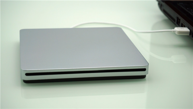 External USB2.0 portable Slot-in DVD Burner drive for Macbook notebook
