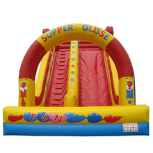 2018 Popular air bouncer inflatable trampoline bouncer slide
