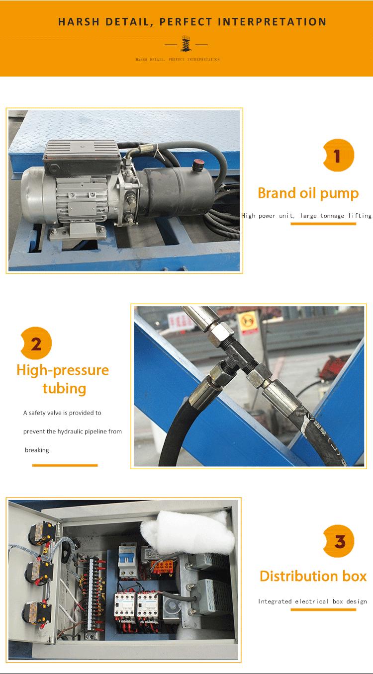 Getrokken hydraulische mobiele elektrische schaarlift voor verkoop
