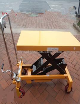 High Quality Hydraulic Lifting Trolley Diy Mini Scissor Lift Table Gtt35 -  Buy Hydraulic Lifting Trolley,Diy Mini Scissor Lift Table Product on