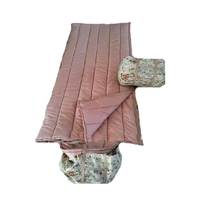 Pink Camouflage Ultralight Sleeping Bags for Girls 2500g