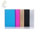 CE certificated multi color new product portable power bank charger for PSP