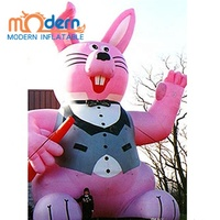 Huge Inflatable Easter Party Bunny For Advertising
