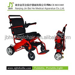 Four wheels balance electric folding wheelchair accessories